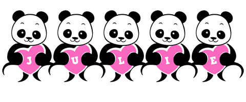 Julie love-panda logo