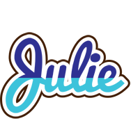 Julie raining logo