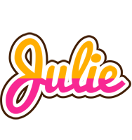 Julie smoothie logo