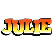 Julie sunset logo