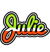 Julie superfun logo
