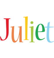 Juliet birthday logo