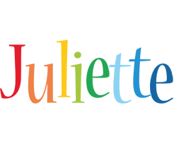 Juliette birthday logo
