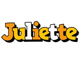 Juliette cartoon logo