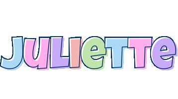Juliette pastel logo