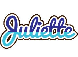 Juliette raining logo