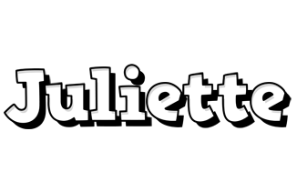 Juliette snowing logo