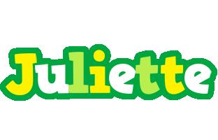 Juliette soccer logo