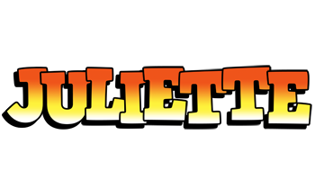 Juliette sunset logo