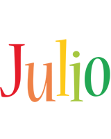 Julio birthday logo