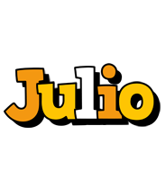 Julio cartoon logo