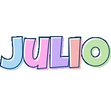 Julio pastel logo