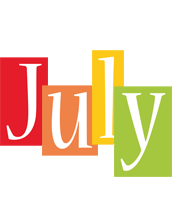 July colors logo