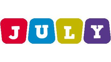 July daycare logo