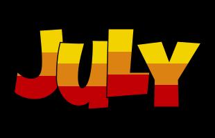 July jungle logo