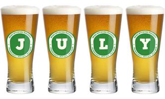 July lager logo