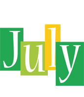 July lemonade logo