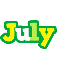 July soccer logo