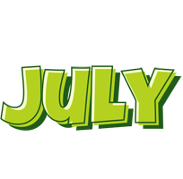 July summer logo