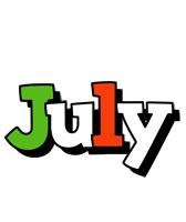 July venezia logo