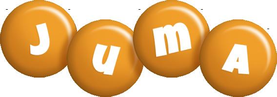 Juma candy-orange logo