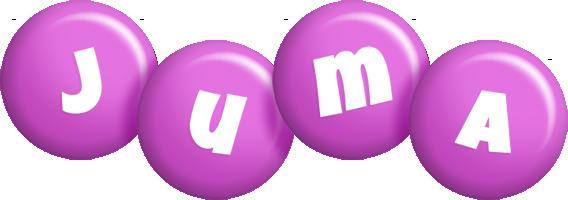Juma candy-purple logo