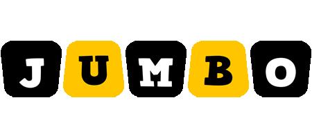 Jumbo boots logo
