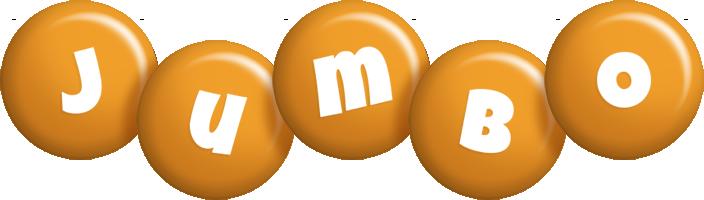 Jumbo candy-orange logo