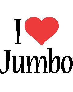 Jumbo i-love logo