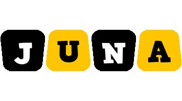 Juna boots logo