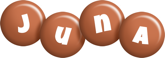 Juna candy-brown logo