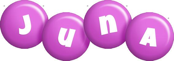 Juna candy-purple logo