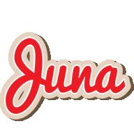 Juna chocolate logo