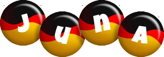 Juna german logo