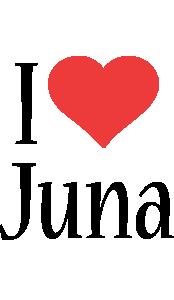 Juna i-love logo