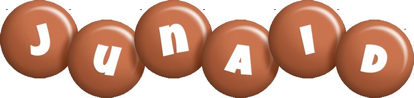 Junaid candy-brown logo