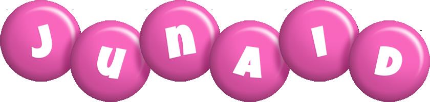Junaid candy-pink logo