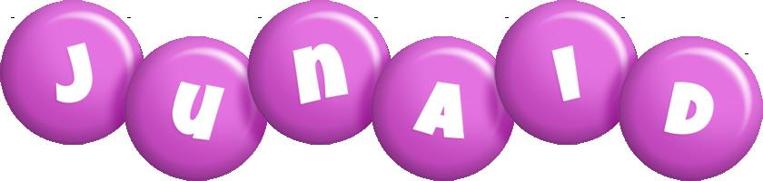 Junaid candy-purple logo
