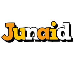 Junaid cartoon logo