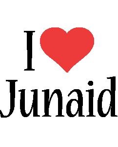 Junaid i-love logo