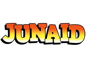 Junaid sunset logo
