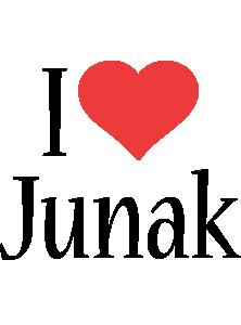 Junak i-love logo