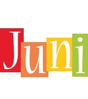 Juni colors logo