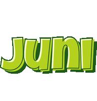 Juni summer logo