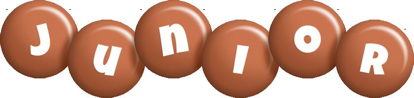 Junior candy-brown logo