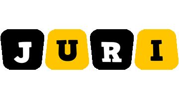 Juri boots logo
