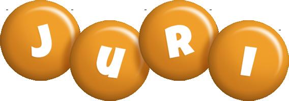 Juri candy-orange logo