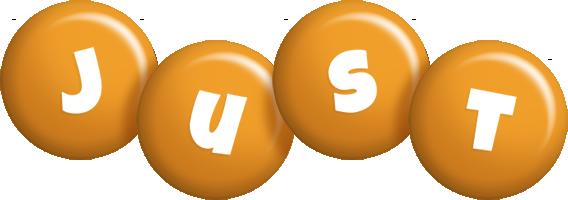 Just candy-orange logo