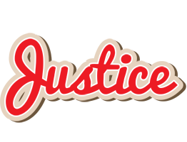 Justice chocolate logo