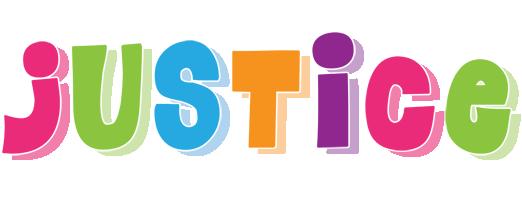 Justice friday logo